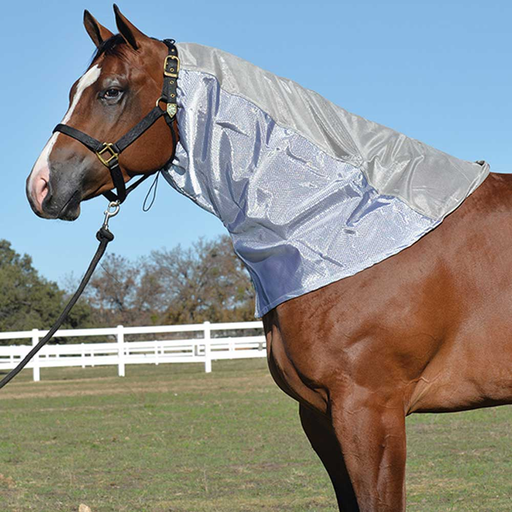 Cashel Crusader Flysheet Neck Guard FARM & RANCH - Animal Care - Equine - Fly & Insect Control - Fly Masks & Sheets Cashel Teskeys