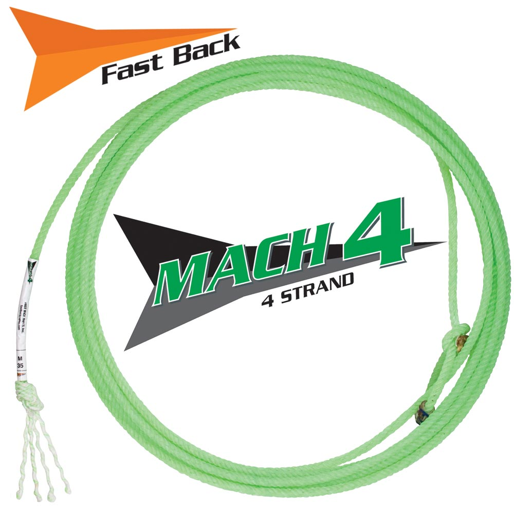 Fast Back Mach IV Rope Tack - Ropes & Roping - Ropes Fast Back Teskeys
