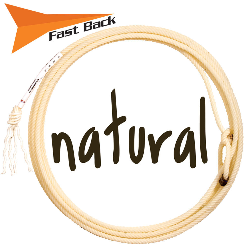 Fast Back Natural Rope Tack - Ropes & Roping - Ropes Fast Back Teskeys