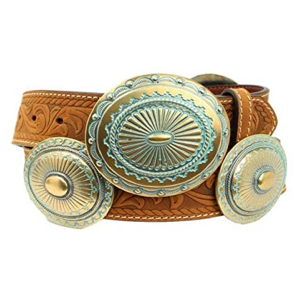 Ariat Turquoise Concho Belt WOMEN - Accessories - Belts M&F WESTERN PRODUCTS Teskeys