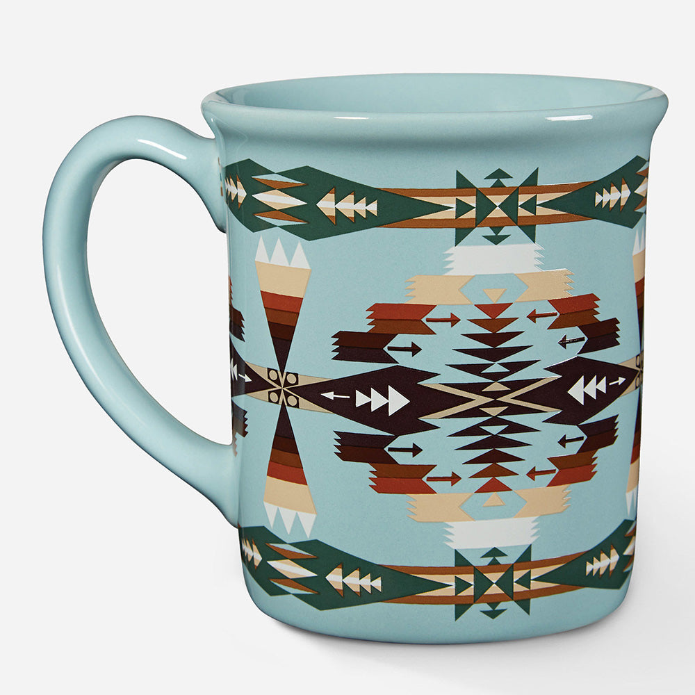 Pendleton Tucson Aqua Mug HOME & GIFTS - Tabletop + Kitchen - Drinkware + Glassware PENDLETON Teskeys
