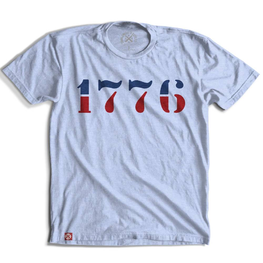 TWT 1776 Stencil Tee MEN - Clothing - T-Shirts & Tanks TUMBLEWEED TEXSTYLES Teskeys