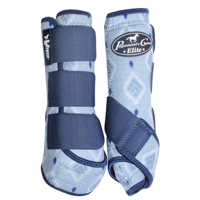 Professional's Choice VenTECH SMB Elite 4-Pack Sport Medicine Boots - Pattern Tack - Leg Protection - Splint Boots Professional's Choice Teskeys