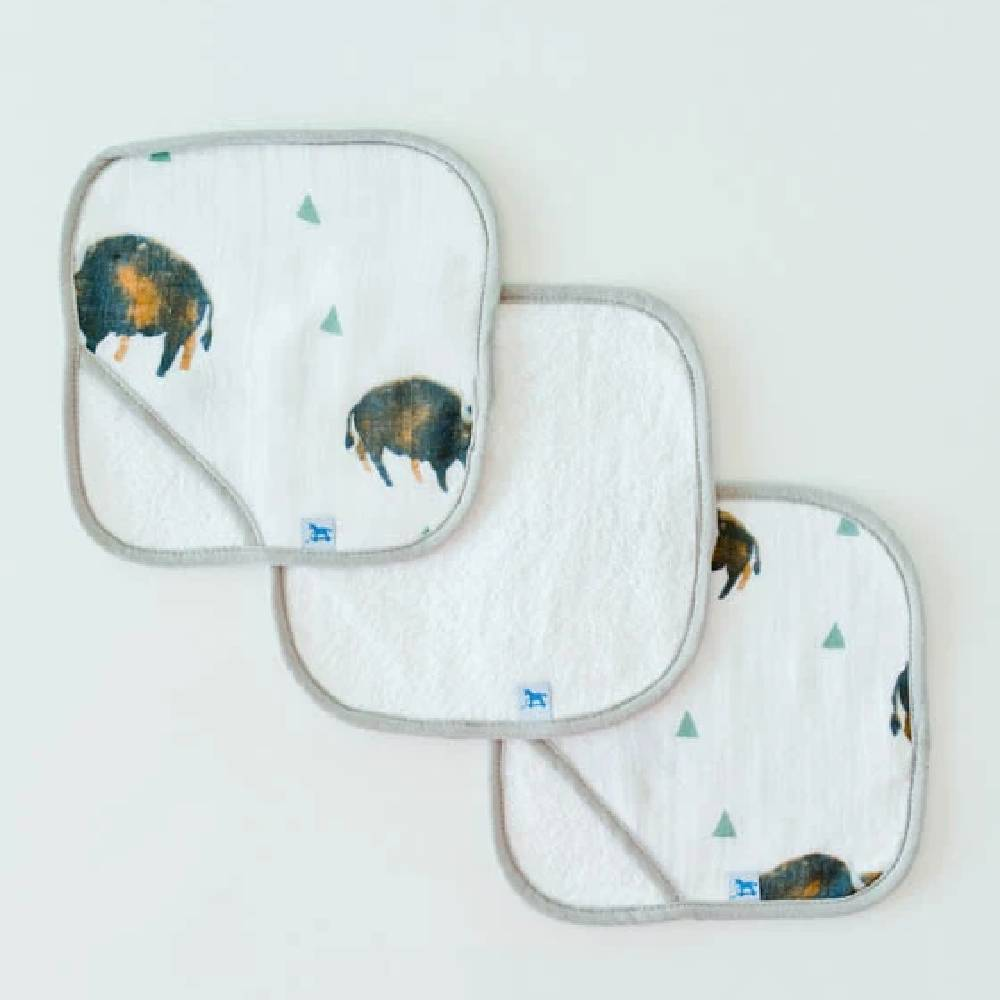 Wash Cloth Set - 3 Pack KIDS - Baby - Baby Accessories LITTLE UNICORN, LLC. Teskeys