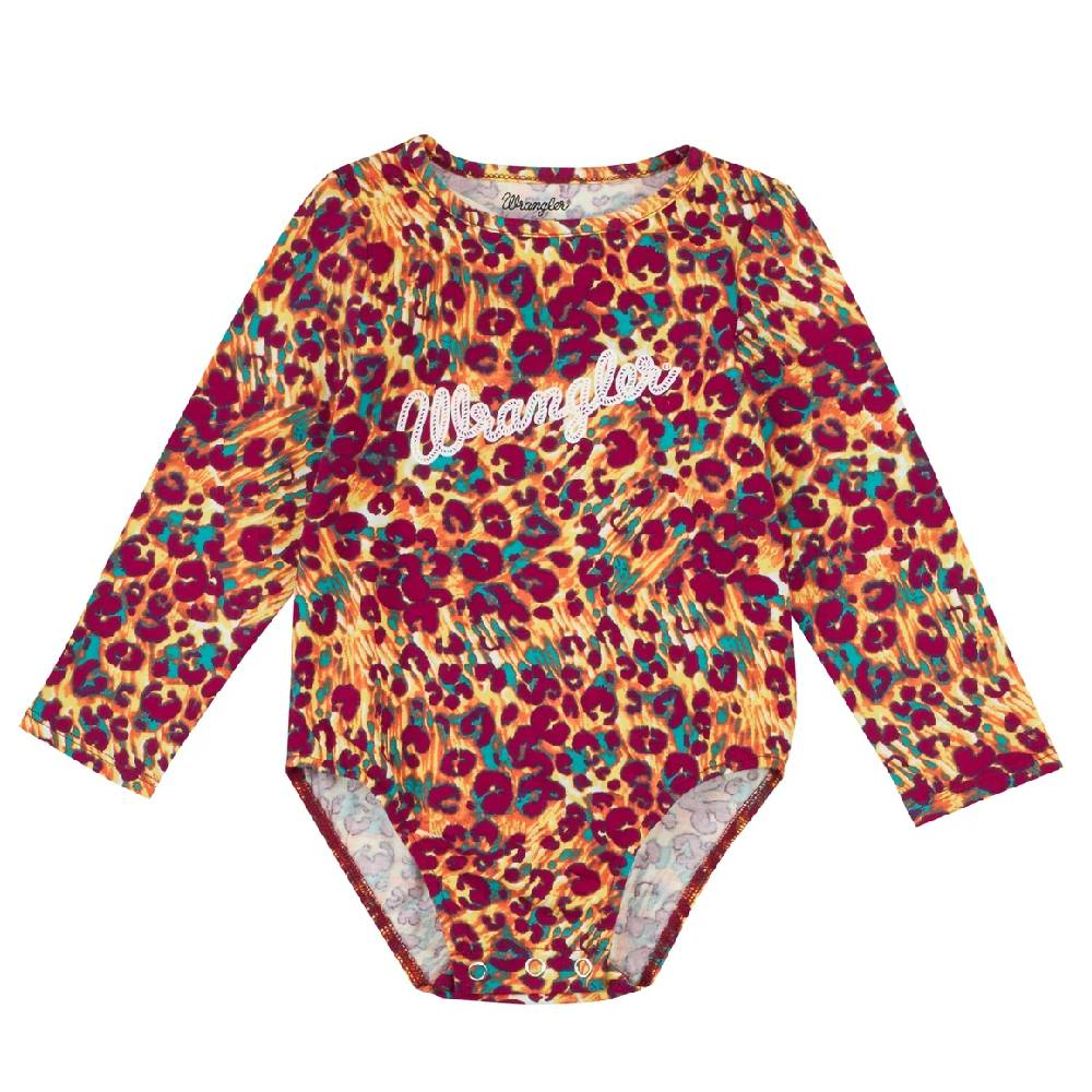 Wrangle Baby Leopard Print Onesie KIDS - Baby - Baby Girl Clothing WRANGLER Teskeys