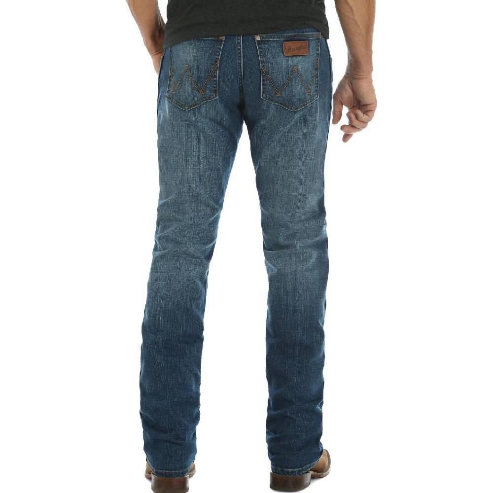 Wrangler Retro Slim Fit Jean MEN - Clothing - Jeans Teskeys Teskeys