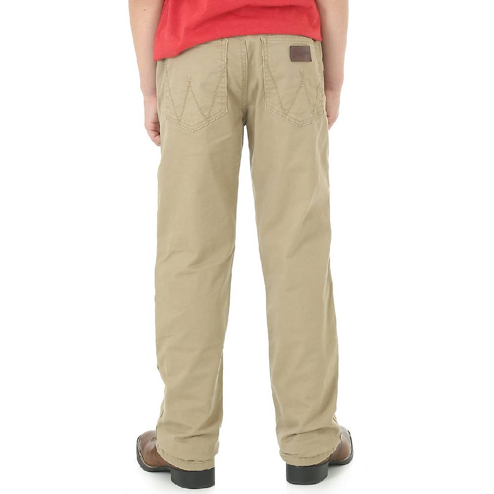 Wrangler Boys Retro Slim Khaki Pant KIDS - Boys - Clothing - Jeans WRANGLER Teskeys