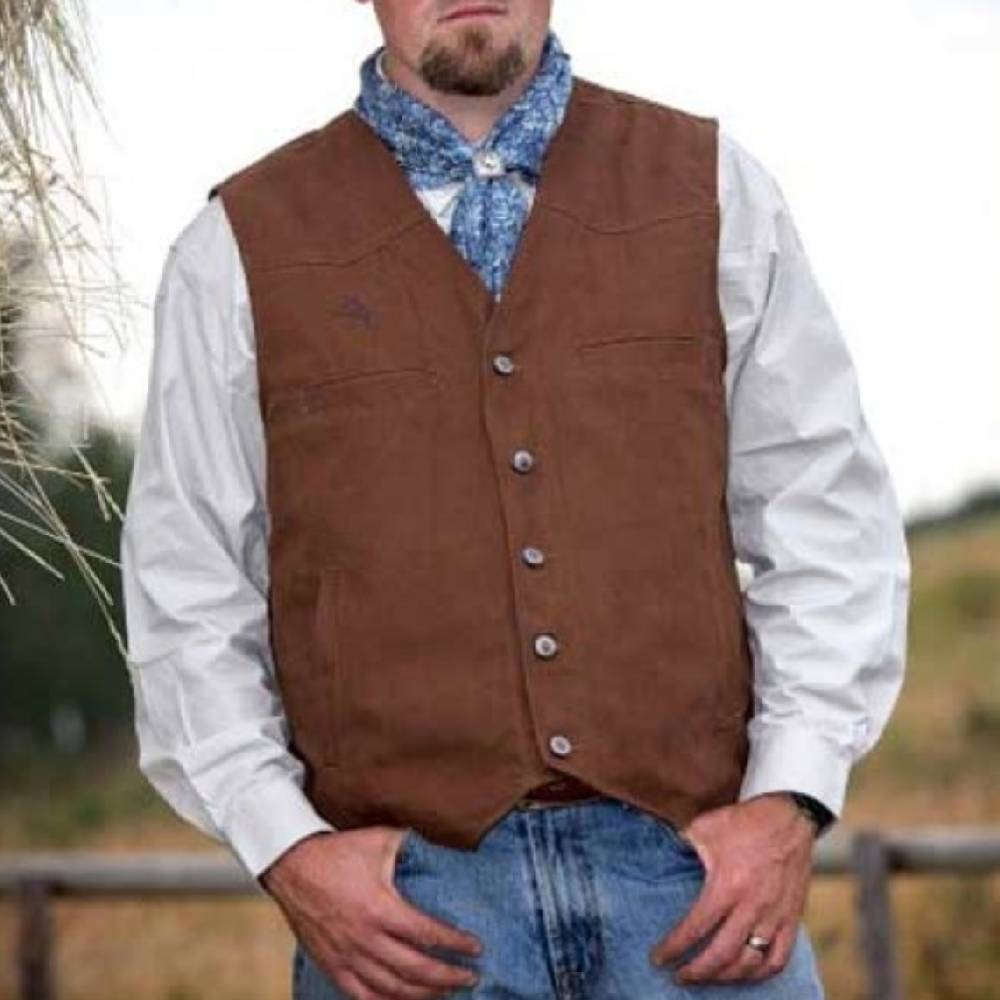 Wyoming Traders Texas Concealed Carry Canvas Vest MEN - Clothing - Outerwear - Vests WYOMING TRADERS Teskeys