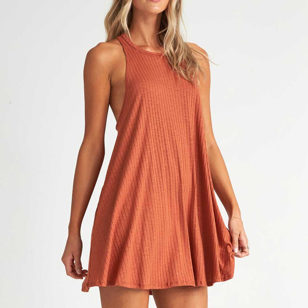 Billabong Sandy Sea Cover Up Dress - Henna WOMEN - Clothing - Surf & Swimwear - Swimsuits BILLABONG Teskeys