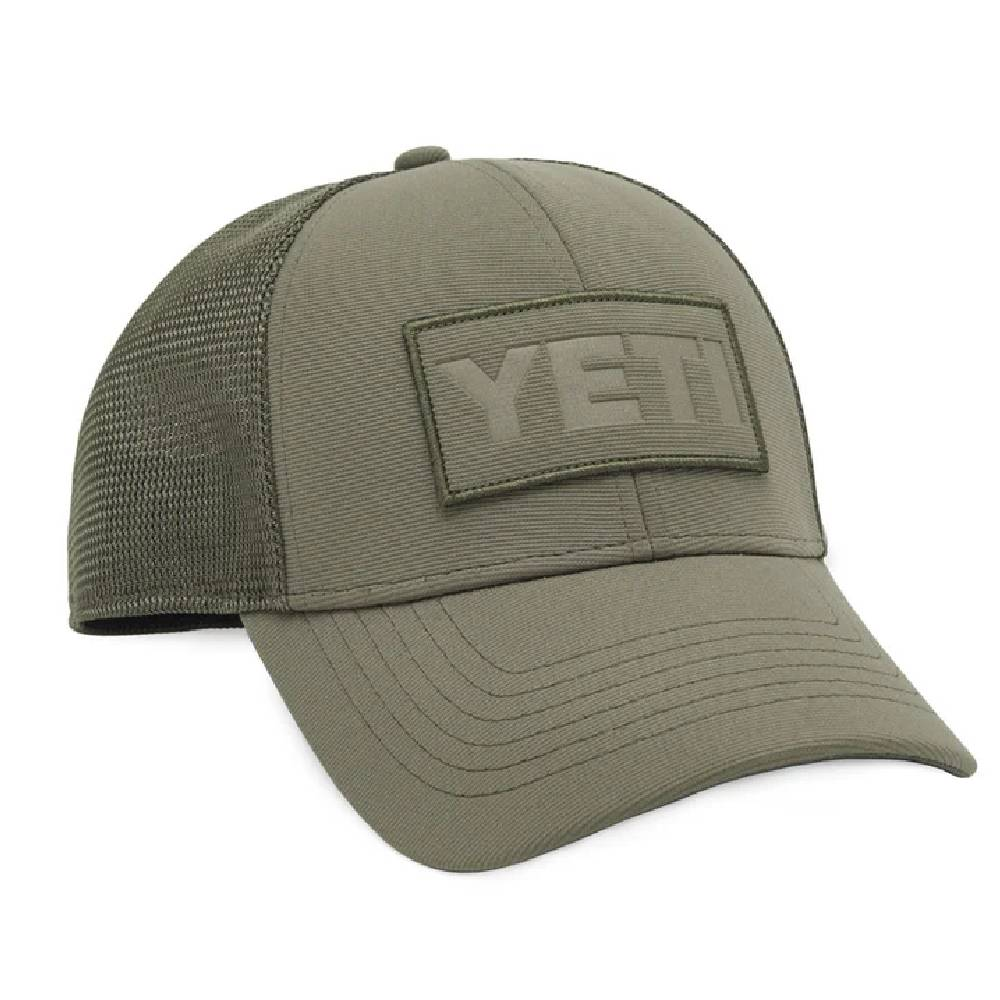 Yeti Patch Trucker Cap - Olive HOME & GIFTS - Yeti YETI Teskeys