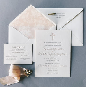 Carpenter Wedding Invitation - Deposit Listing
