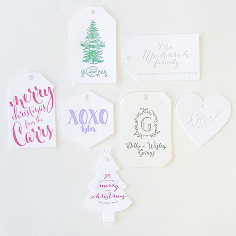 Letterpress Gift Tags *Top Sellers*