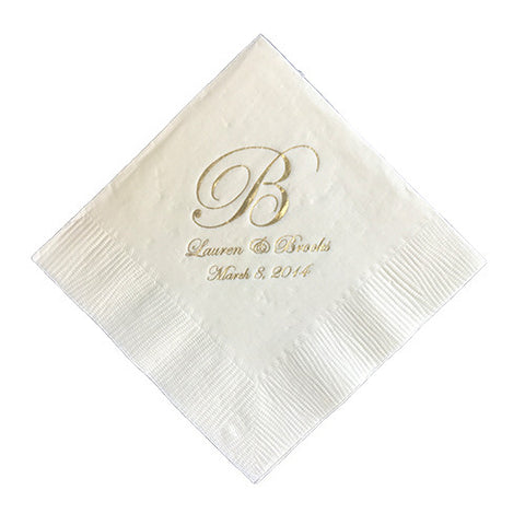Lauren & Brooks Napkin
