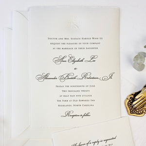 Winn Wedding Invitation - Deposit Listing