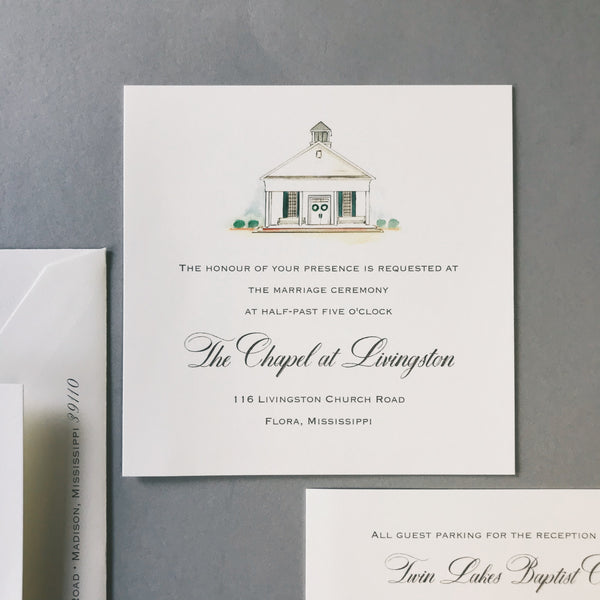 Stringer Wedding Invitation - Deposit Listing