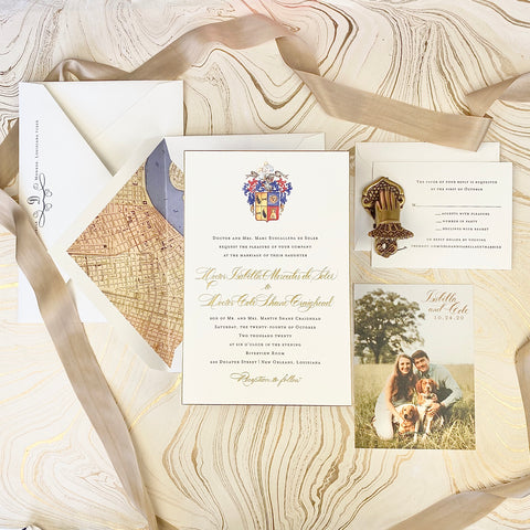de Soler Wedding Invitation - Deposit Listing