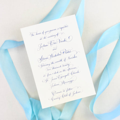 Vecchi Wedding Invitation - Deposit Listing
