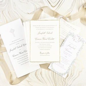 Jennybeth Wedding Invitation - Deposit Listing
