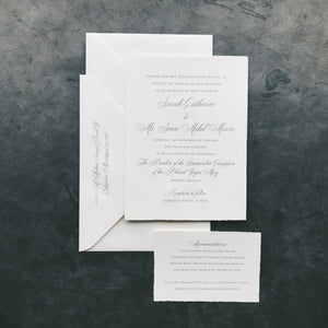 Billups Wedding Invitation - Deposit Listing