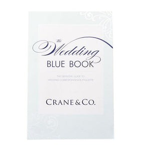 Crane & Co. Wedding Blue Book