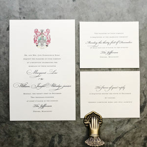 Lee Wedding Invitation - Deposit Listing