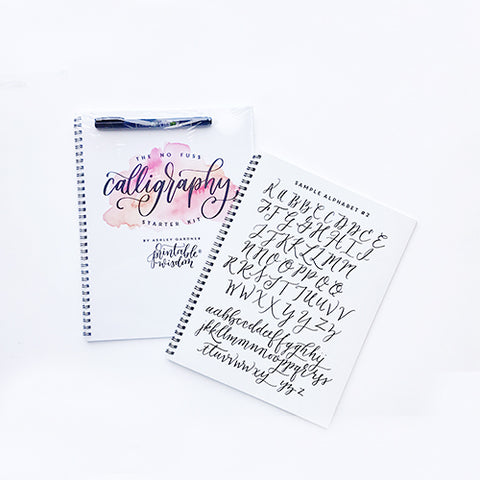 The No Fuss Calligraphy Starter Kit