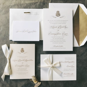 Higginbotham Wedding Invitation - Deposit Listing