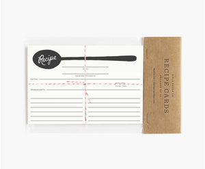 Spoon recipe cards- Rifle Paper Co.