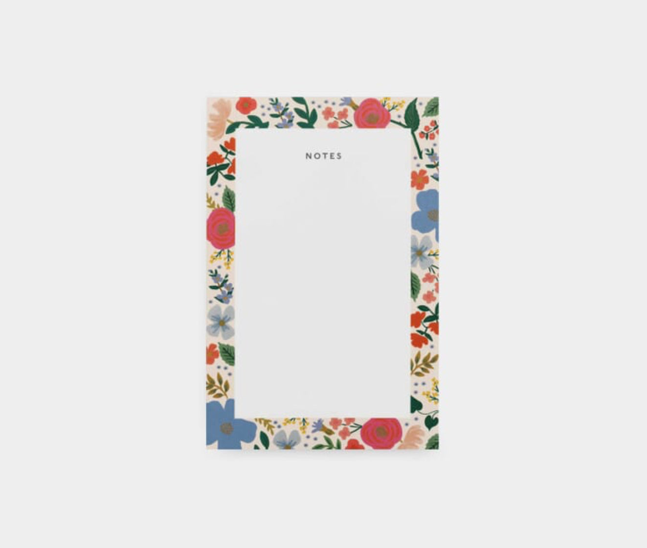 Wild Rose Memo Pad- Rifle Paper Co.