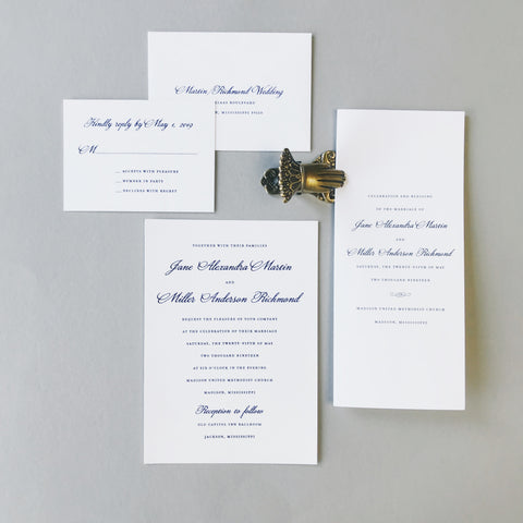 Martin Wedding Invitation - Deposit Listing