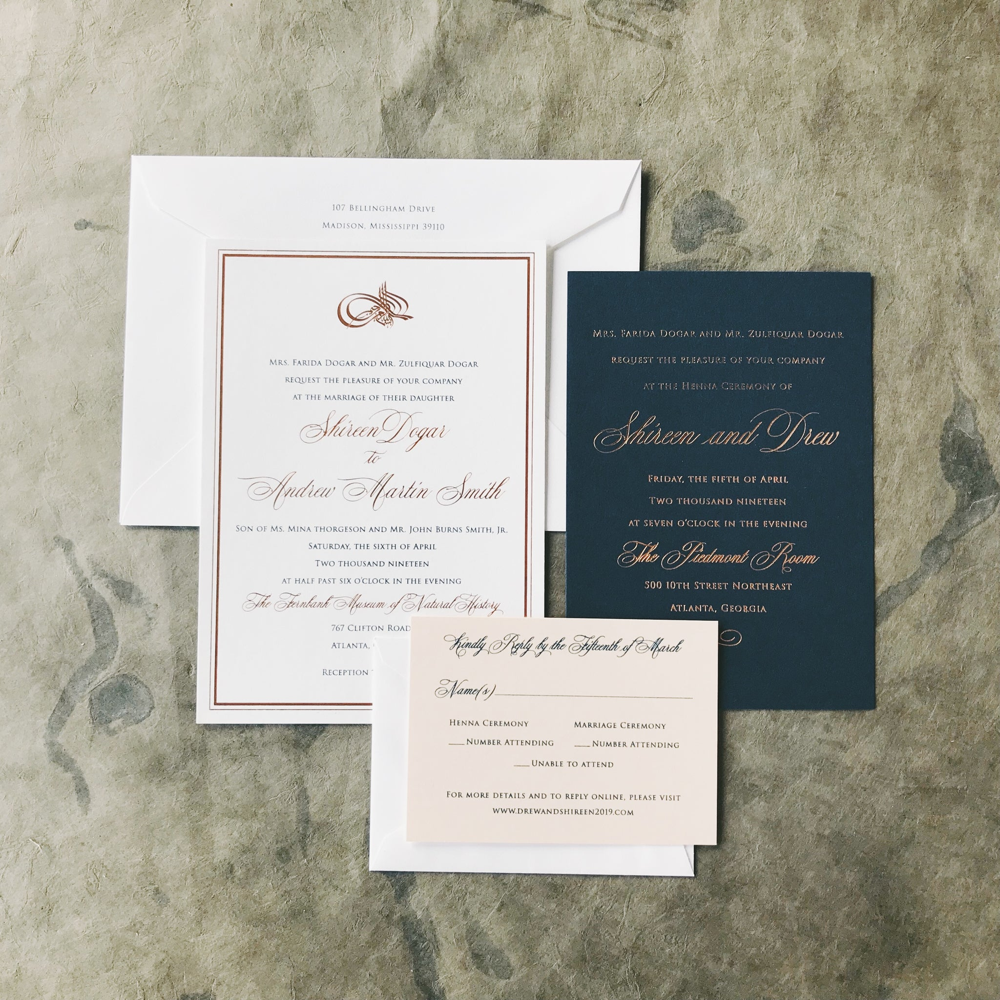 Dogar Wedding Invitation - Deposit Listing