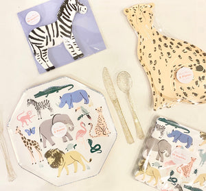 Wild Animals Party Goods Collection