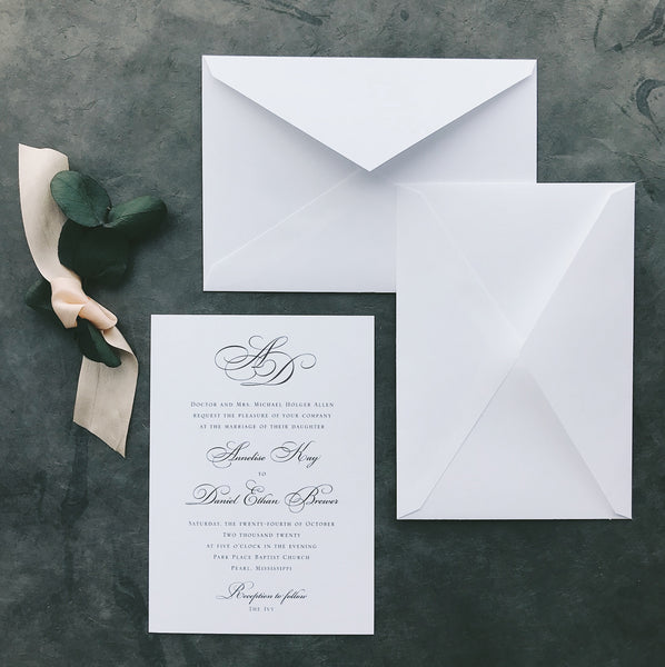 Allen Value Invitation (set of 10)