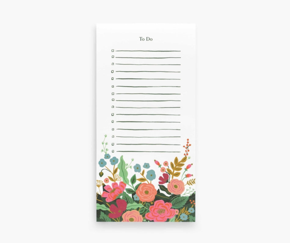 Floral Vines Notepad- Rifle Paper Co.