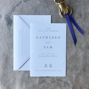 Kathleen Save the Date - Deposit Listing