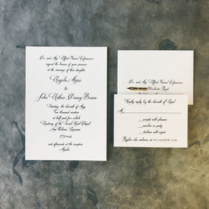 Cofrancesco Wedding Invitation - Deposit Listing