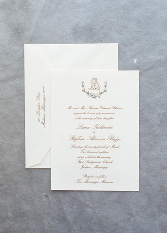 Blurton Wedding Invitation - Deposit Listing