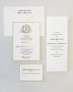 Buck Wedding Invitation - Deposit Listing
