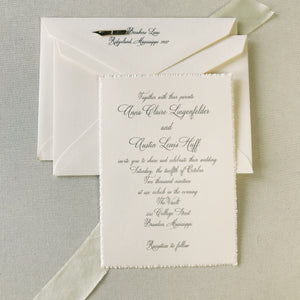Lingenfelder Wedding Invitation - Deposit Listing