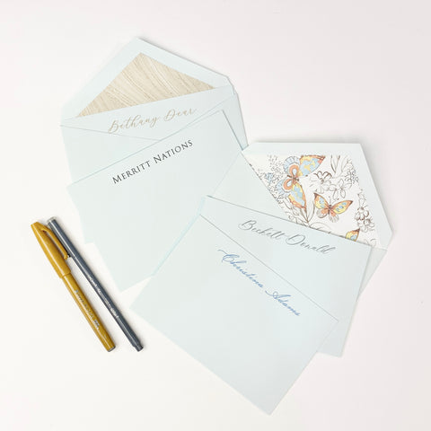 Crane Beach Glass Stationery