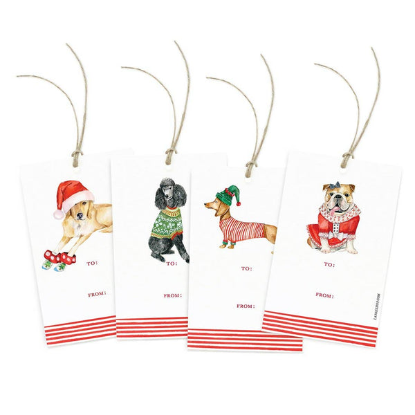 Holiday Illustrated Gift Tags