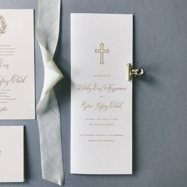 Ashley Wedding Invitation - Deposit Listing