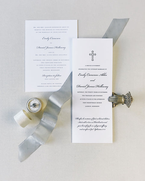 Ables Wedding Invitation - Deposit Listing