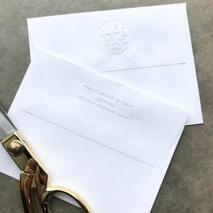 Return Address Embossers