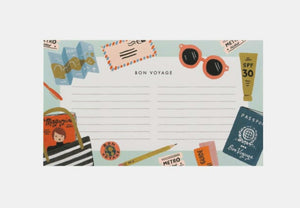 Bon Voyage Notepad- Rifle Paper Co.