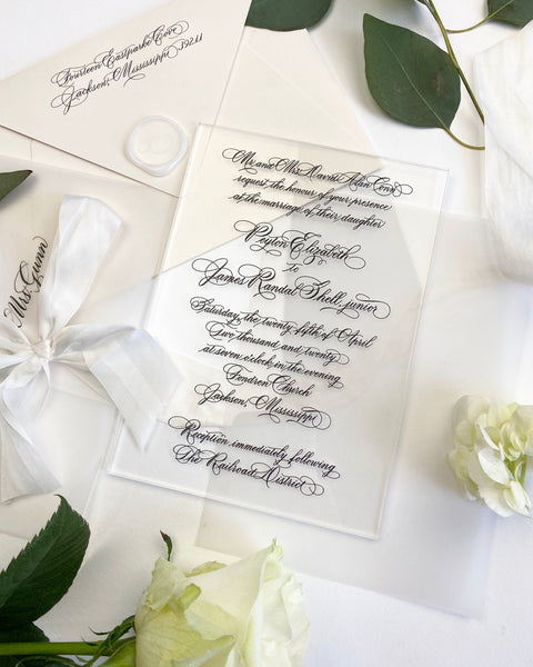 Conn Wedding Invitation - Deposit Listing