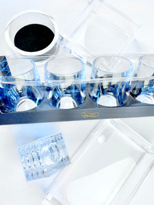 Caspari Acrylic Glassware and Tabletop Collection