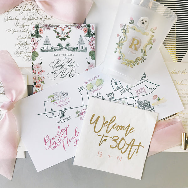Rader Wedding Invitation - Deposit Listing