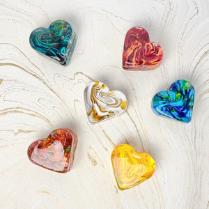 Sweet Heart Paperweights
