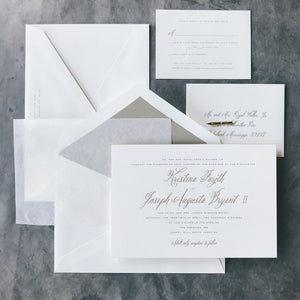 Walker Wedding Invitation - Deposit Listing